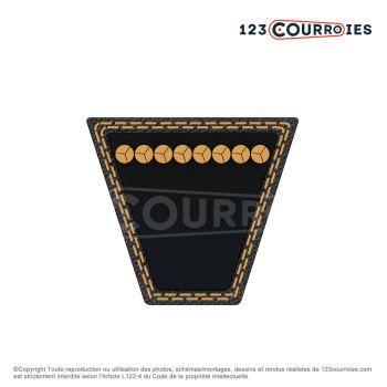 Courroies trapézoïdales remplace combustion Courroie pour JU 130 Ju 2135 AYP Ju 135 JS 2135