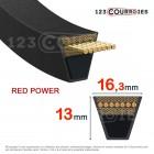 Courroie trapézoidale lisse Optibelt Red Power 3 SPB1250 Ld