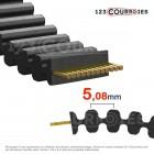 Courroie cote pouce double denture 180DXL025