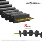 Courroie double dentée Gates Twin power 4960-D8MGT85