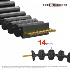 Courroie HTD double denture 966D14M115