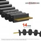 Courroie HTD double denture 2800D14M85