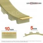 Courroie dentée ouverte 10T5-PUSTEEL