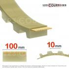 Courroie dentée ouverte 100T10-PUSTEEL