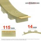 Courroie dentée ouverte 14M115-PUSTEEL