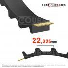 Courroie dentée simple 507XH200