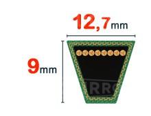 Nos modèles de Courroie trapezoidale 12.7x9