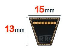 Nos modèles de Courroie trapezoidale 15x13